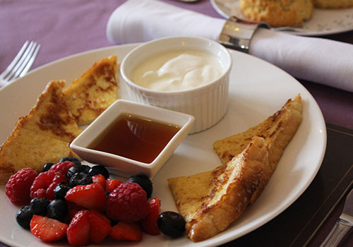 ashburn-house-bed-and-breakfast-seafield-french-toast
